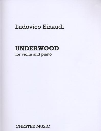 HAL LEONARD Einaudi, Ludovico: Underwood (violin & piano)