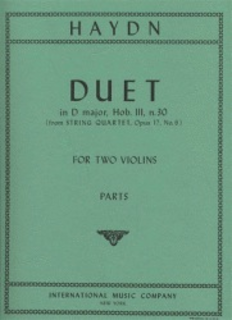 International Music Company Haydn, F.J.: Duet in D major, Op.102 (2 violins)