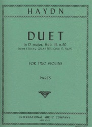 International Music Company Haydn, F.J.: Duet in D major, Op.102 (2 violins)