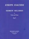 Joachim, Joseph: Hebrew Melody (viola & piano)