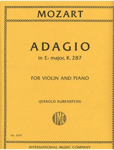 International Music Company Mozart, W.A.: Adagio in Eb major, K.287 (violin & piano)