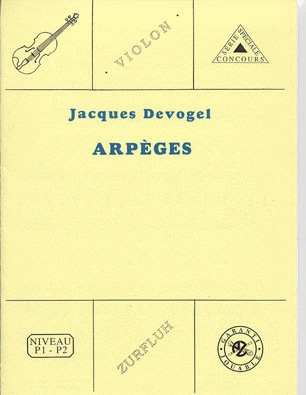 Carl Fischer Devogel, Jacques: Arpeges (violin & piano)