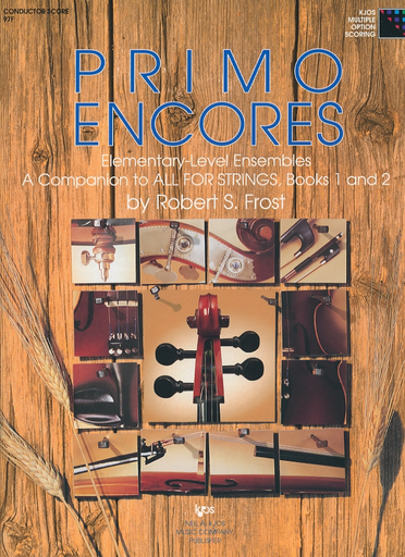 Frost, Robert: Primo Encores (score)