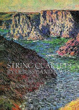 Debussy and Ravel: Dover SCORE String Quartets