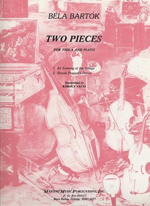 LudwigMasters Bartok, Bela: Two Pieces-Evening at the Village/Slovak Dance (viola & piano)