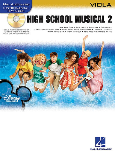 HAL LEONARD High School Musical 2 (viola & CD)