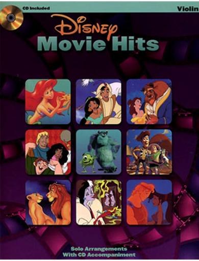 HAL LEONARD Hal Leonard Instrumental Play-Along: Disney Movie Hits (violin)(audio access)