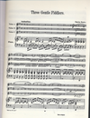 HAL LEONARD Fowler, Charles: Three Gentle Fiddlers, score & parts (3 Violins & piano)