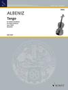 HAL LEONARD Albeniz, I. (Dushkin): Tango Op. 165/2 (violin and piano)