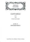 Rarities for Strings Paganini, Niccolo (Ricci): Cantabile in D (violin & piano)