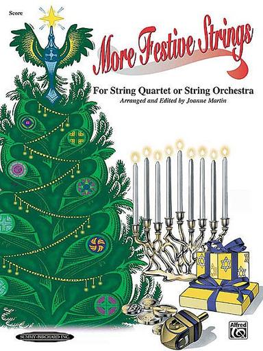 Martin, J.: (Score) More Festive Strings