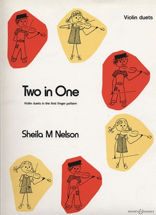 HAL LEONARD Nelson, S.: Two In One; Violin Duets In The First Finger Pattern (2 violins)