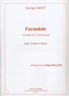 Carl Fischer Bizet, Georges: Farandole-extraite de L'Arlesienne (violin & piano)