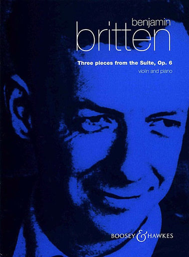 HAL LEONARD Britten, B.: Three Pieces from the Suite, Op.6 (violin & piano)