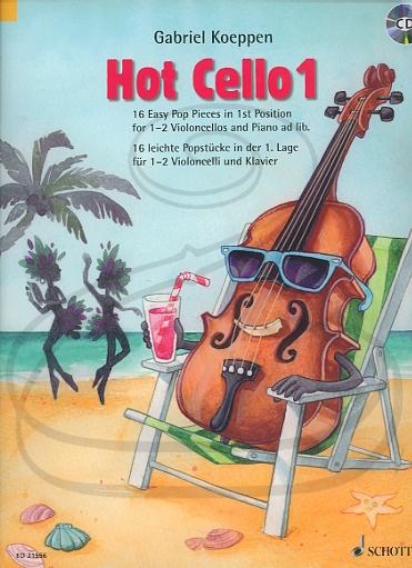 HAL LEONARD Koeppen: (collection) Hot Cello 1 (2 cellos)(CD) Schott