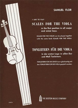 Flor, Samuel: I Like to Play Scales for the Viola