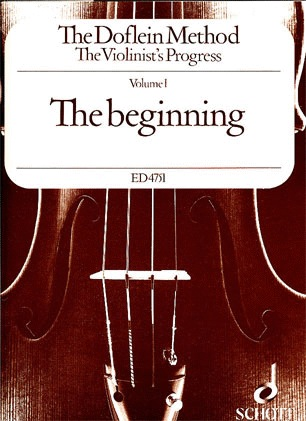 Doflein: The Doflein Method-The beginning Vol.1 (violin)