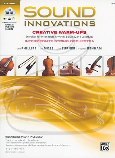 Alfred Music Phillips/Moss/Turner/Benham: Sound Innovations for String Orchestra: Creative Warm-Ups (violin) (audio access) Alfred