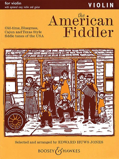 HAL LEONARD Jones, E.H.: American Fiddler-Complete (2 violins, chords, and piano)
