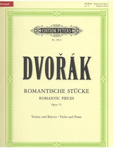Dvorak, Antonin (urtext): Romantic Piece (violin & piano)