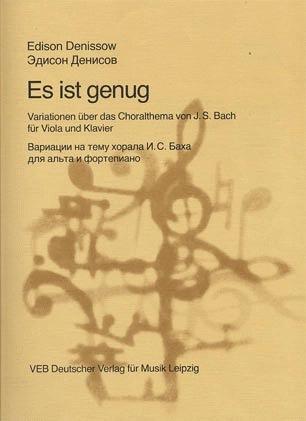 Denissow: Es ist genug (viola & piano)
