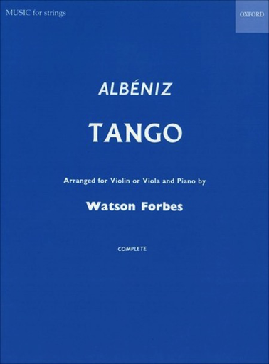 C.F. Peters Albeniz, I. (Forbes, arr.): Tango (viola or violin and piano)