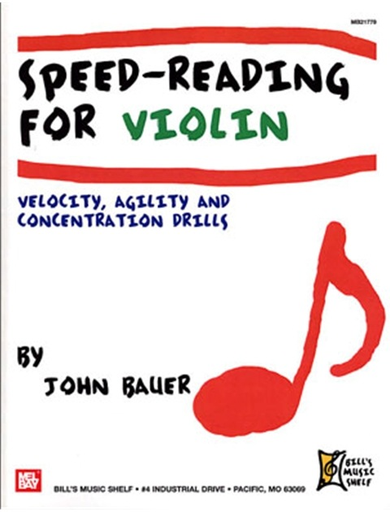 Bauer, John: Speed-Reading for Violin