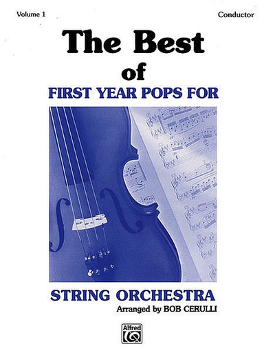 Alfred Music Cerulli, Bob: The Best of First Year Pops (score)