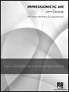 HAL LEONARD Cacavas, J.: Impressionistic Air (violin & piano)