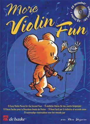 HAL LEONARD Goedhart, D.: More Violin Fun (violin & CD)