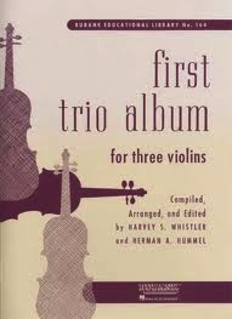 HAL LEONARD Whistler, H.: First Trio Album for 3 Violins