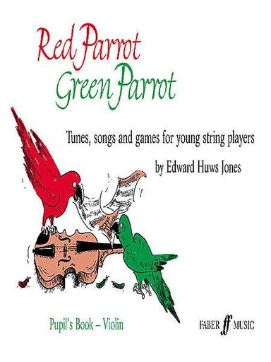 HAL LEONARD Jones, E.H.: Red Parrot Green Parrot (violin)