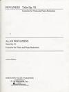 HAL LEONARD Hovhaness, Alan: Talin Concerto (viola & piano)