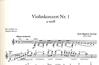 Accolay, J.B.: Concerto No.1 in A minor (Violin & Piano)
