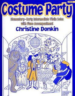 Donkin, Christine: Costume Party (violin & piano)