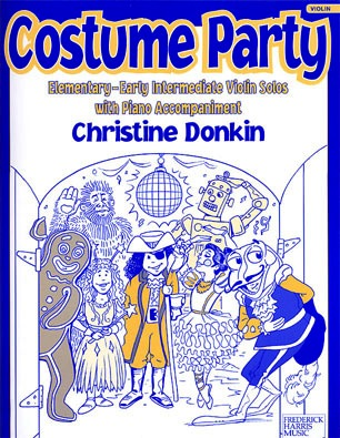 Donkin, Christine: Costume Party (violin & piano)
