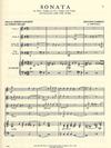 International Music Company Gabrieli: Sonata (3 Violins & Piano, Cello ad lib)
