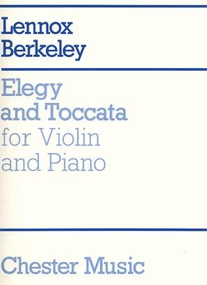 HAL LEONARD Berkeley, Lennox: Elegy & Toccata Op.33 (violin & piano)