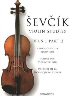 Bosworth Sevcik: School of Violin Technique, Op.1, Bk.2 (violin)