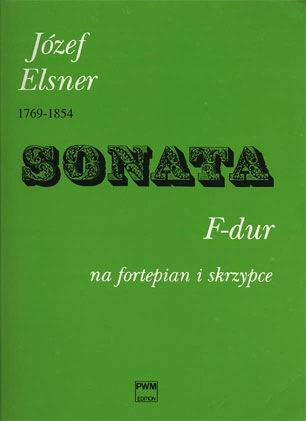 Carl Fischer Elsner: Sonata in f (violin & piano)