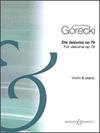 HAL LEONARD Gorecki: Dla Jasiunia, Op.79 - Three Little Pieces (violin & piano) Boosey & Hawkes