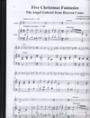 LudwigMasters Burswold, Lee (arranger): Five Christmas Fantasies for Violin & Piano