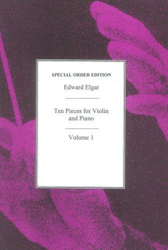 Elgar, Edward: 10 Pieces Vol.1 (violin & piano)