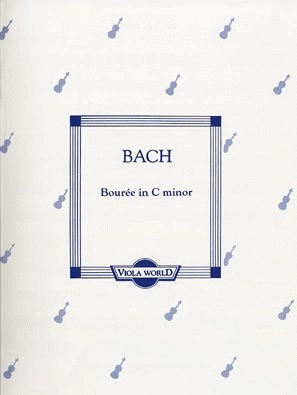 Bach, J.S. (Arnold): Bourree in C minor (viola & piano)
