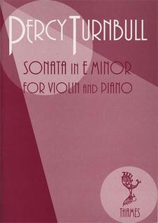Turnbull, Percy: Sonata (violin & piano)