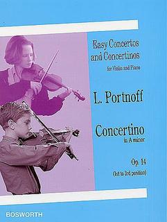 Bosworth Portnoff, Leo: Concertino Op.14 in A minor (violin & piano)