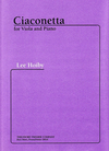 Carl Fischer Hoiby, Lee: Ciaconetta (viola & piano)