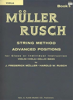Muller, J.F. & Rusch, H.W.: String Method, Bk.5 (viola)