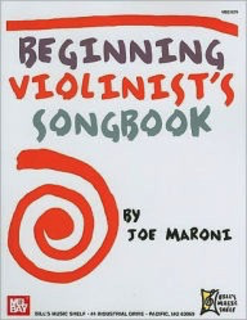 Bill's Music Shelf Maroni, J.: (Collection) Beginning Violinist's Songbook (violin)