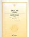 Fibich, Zdenek: Poem Op. 39 from ''At Twilight'' (violin & piano)